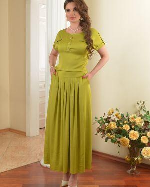Летнее платье макси на резинке Salvi-s