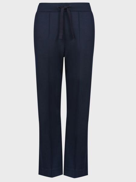 Синие брюки из вискозы Maerz