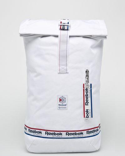 Белый рюкзак Reebok