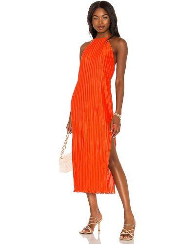Оранжевое платье с подкладкой House Of Harlow 1960