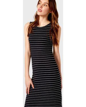 Платье миди в рубчик платье-майка Ostin