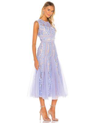 Кружевное платье - фиолетовое Bronx And Banco