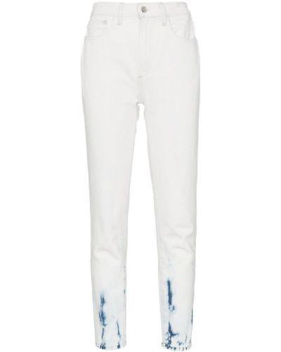 Прямые джинсы синие на пуговицах Jordache