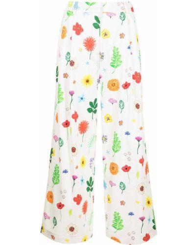 Свободные хлопковые брюки свободного кроя Mira Mikati