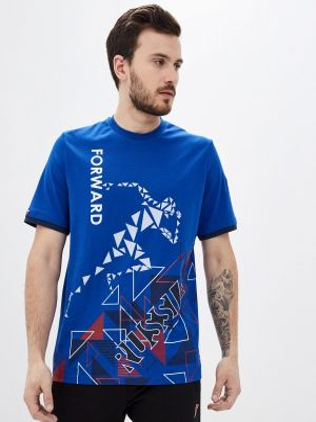 Синяя футболка Forward