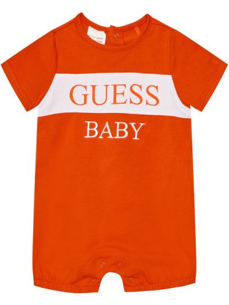 Pomarańczowy body Guess