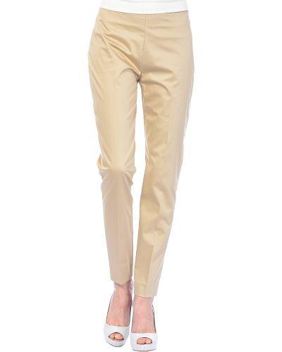 Бежевые брюки хлопковые Love Moschino