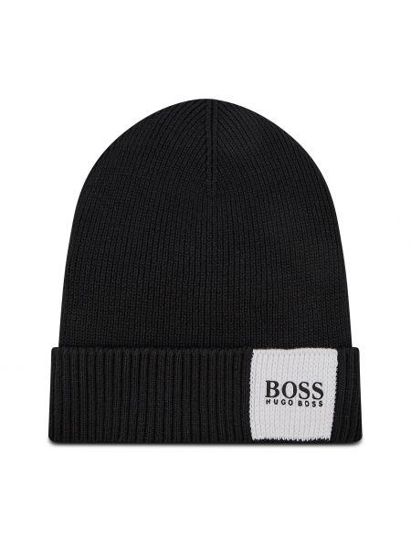 Czapka - czarna Boss