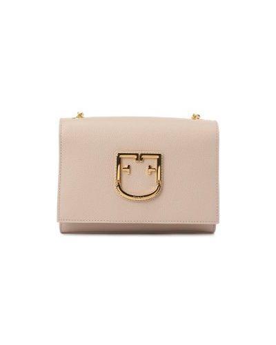 Маленькая сумка розовый светло-розовый Furla