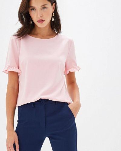 Блузка с коротким рукавом розовая итальянский Blugirl Folies