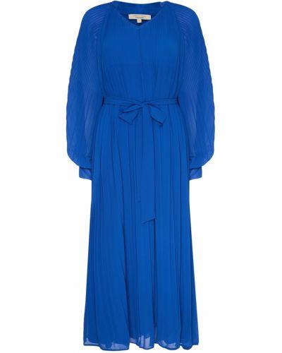 Платье миди с поясом плиссированное макси Akhmadullina Dreams