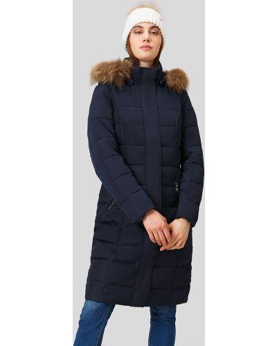 Пальто с енотом пальто Finn Flare