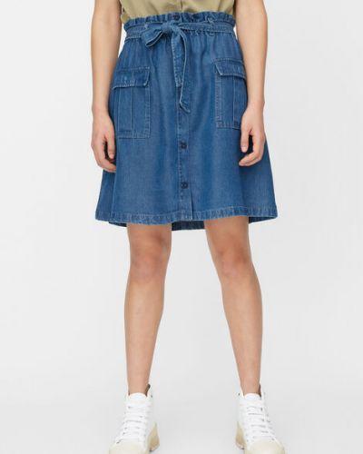 Klasyczna niebieska spódnica jeansowa Marc O Polo