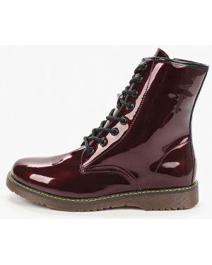 Ботинки лаковые красные Keddo