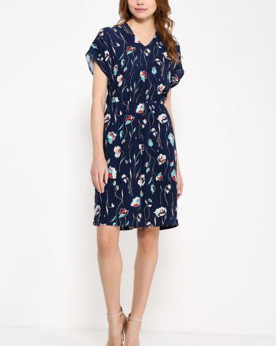 Платье с V-образным вырезом приталенное Finn Flare