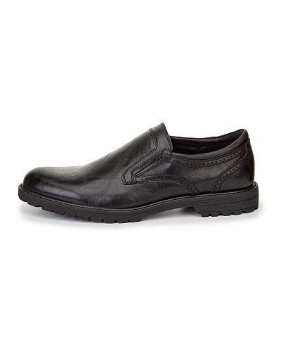 Черные демисезонные туфли Zenden