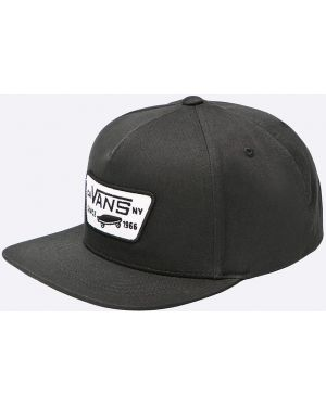 Czarna czapka bawełniana Vans