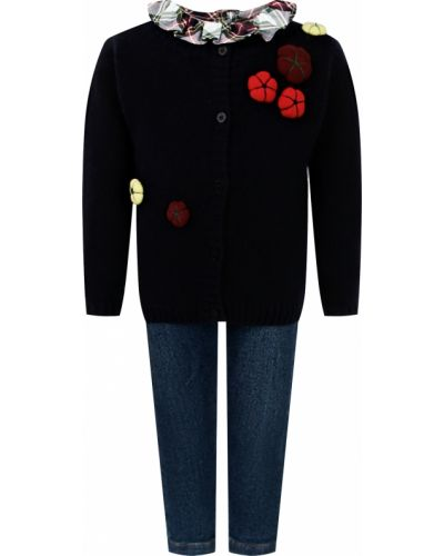 Хлопковая красная блузка Il Gufo