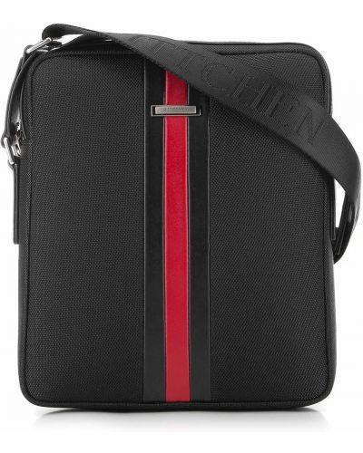 Кожаная сумка через плечо - черная Wittchen