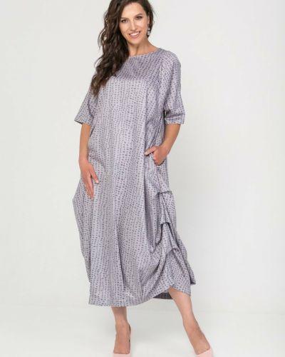 Платье свободного кроя прима линия