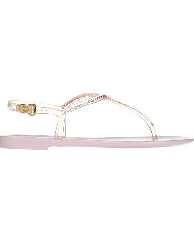 Силиконовые сандалии - розовые Menghi
