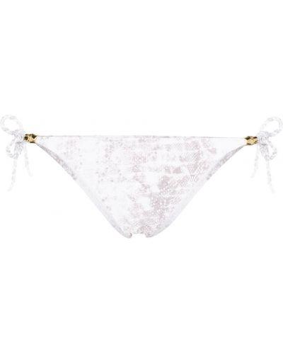 Белые бикини эластичные с завязками Heidi Klein