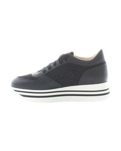 Czarne sneakersy Stokton