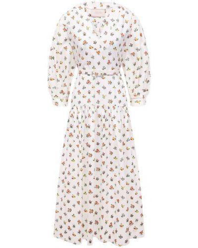 Хлопковое белое платье Tak.ori