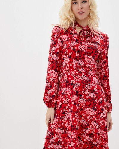 Повседневное красное платье Marks & Spencer