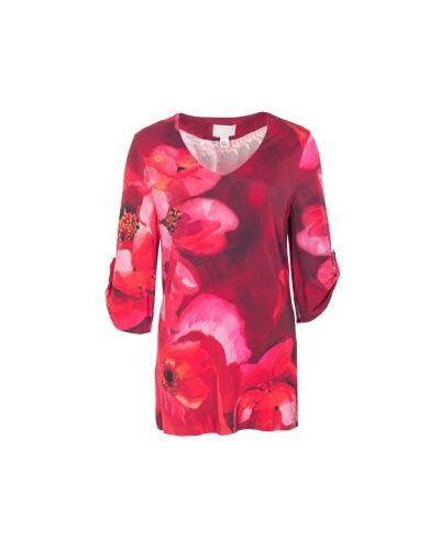 Красная блузка винтажная Class Cavalli