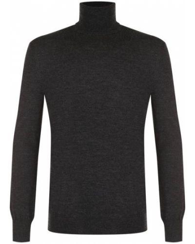 Серый свитер шерстяной Polo Ralph Lauren