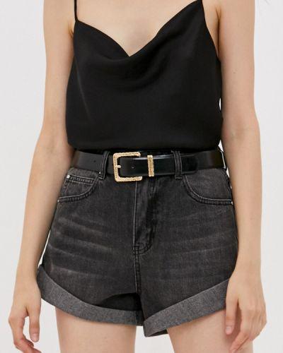 Черные джинсовые шорты Love Republic