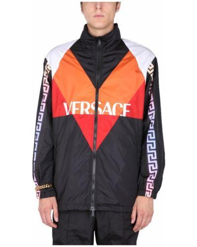 Pomarańczowa kurtka Versace