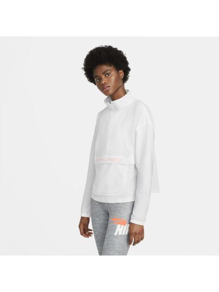 Włókienniczy bluzka z mankietami z kieszeniami z kołnierzem Nike