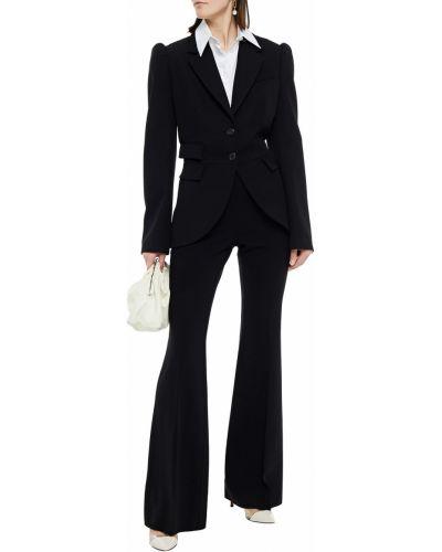 Шерстяной черный пиджак с карманами Michael Kors Collection