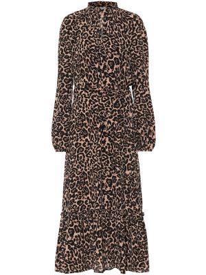Платье макси леопардовое сафари Baum Und Pferdgarten