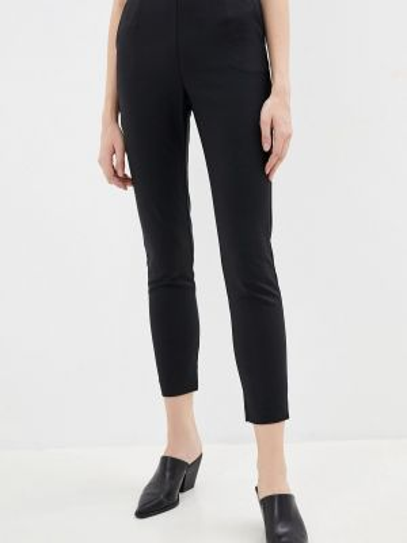 Классические брюки черные весенний Love Republic