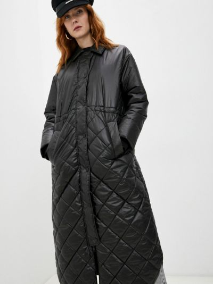 Черная демисезонная куртка Twinset Milano