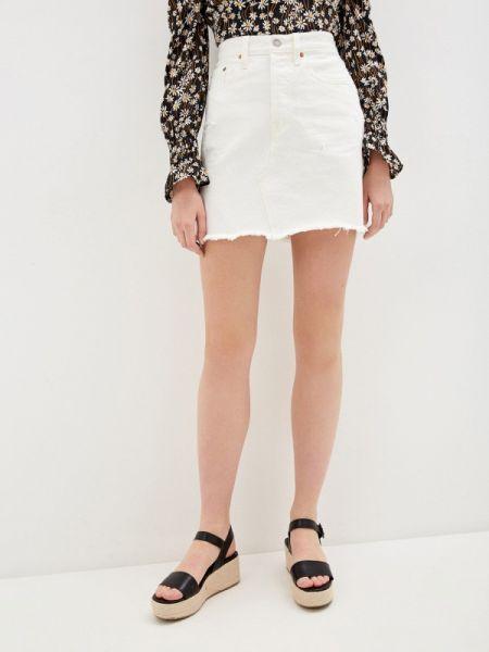 Джинсовая юбка белая весенняя Levi's®