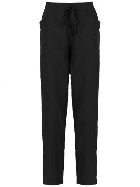 Черные брюки с воротником Mara Mac