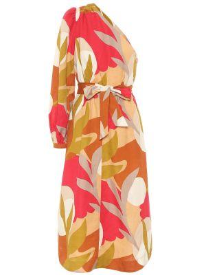 Летнее платье миди с принтом Rebecca Vallance