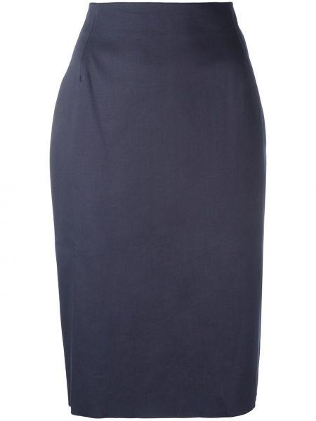 Прямая юбка - серая Tomas Maier