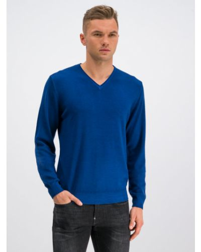 Sweter - niebieski Digel