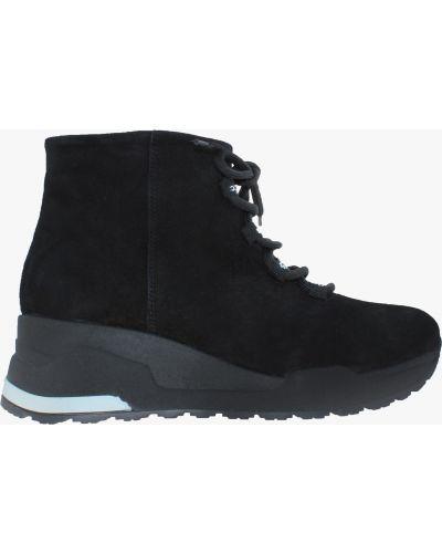 Кроссовки - черные Carvallio