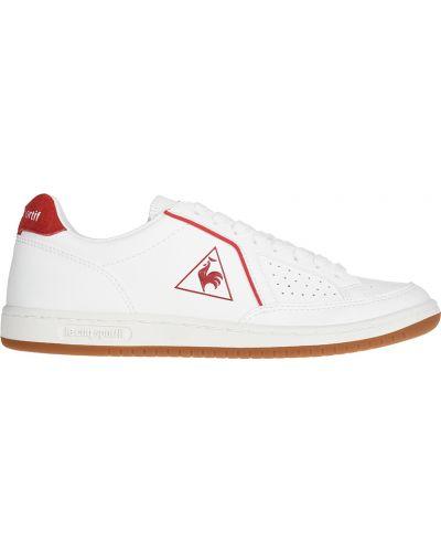 Кожаные кроссовки - белые Le Coq Sportif