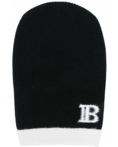 Wełniany czapka baseballowa Balmain
