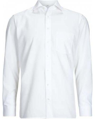 Biała koszula bawełniana Olymp