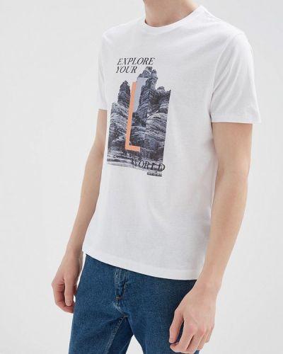 Белая футболка Napapijri