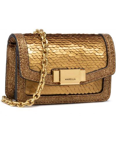 Złota torebka Marella