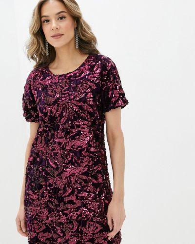 Фиолетовое вечернее платье Yumi